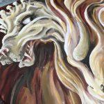 Acrylic Dragon